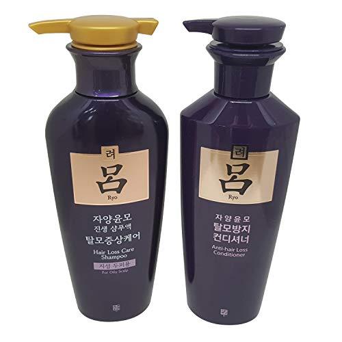 Ryoe Jayang Yoon Mo Anti Hair loss Shampoo For Oily Scalp 13.53Oz/400Ml + Conditioner 13.53Oz/400Ml