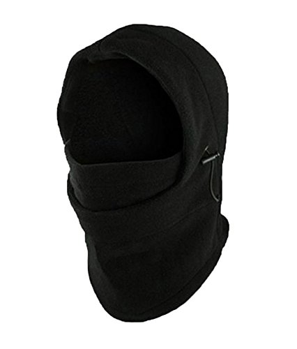 Leegoal Multifunction Fleece Double Balaclava