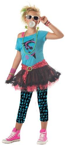 Child/Tween X-Large (12-14) 80s Valley Girl