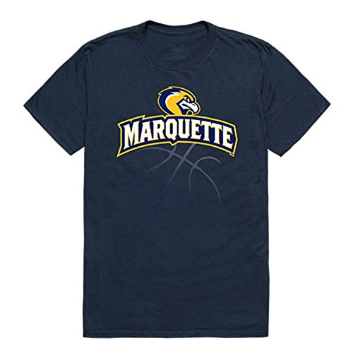Marquette University Golden Eagles NCAA Basketball Tee T-Shirt Large