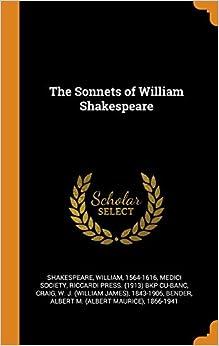 Descargar Por Utorrent The Sonnets Of William Shakespeare En PDF Gratis Sin Registrarse