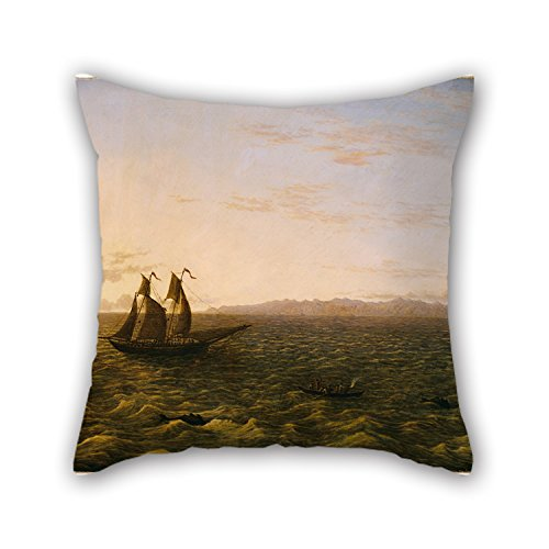 Oil Painting John Glover - The Island Of Madeira Pillowcase 18 X 18 Inch / 45 By 45 Cm Gift Or Decor For Husband,outdoor,gf,play Room,saloon,christmas - Each Side