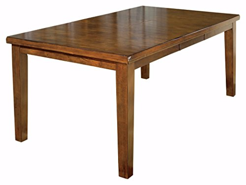 (Ashley Furniture Signature Design - Ralene Dining Room Table with Butterfly Extension Leaf - Vintage Casual - Medium Brown)