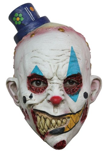 Kids Clown Mime Zack Mask (Mime Masks For Sale)