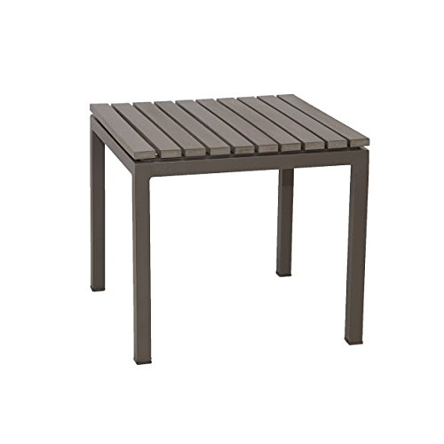 Patio Heaven TX2291-ST2-G Riviera End Table, Gray Review