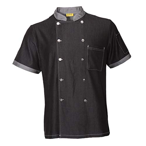 short sleeved chef coat - 4