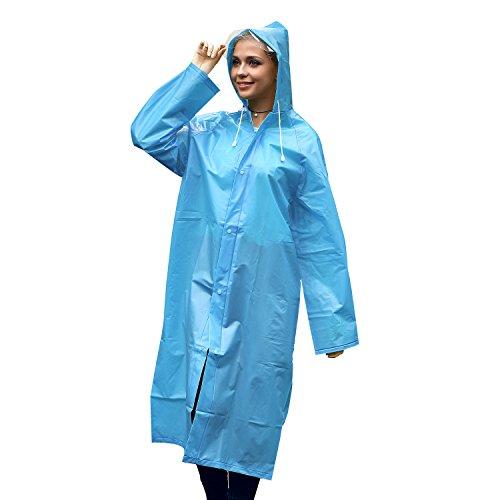 Unigear Portable Raincoat Rain Poncho with Hood and Sleeve