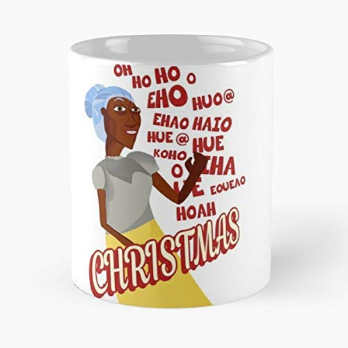 Novelty Ceramic Cups 11oz Rapsittie Street Kids Believe In Santa So Bad Its Good Cult Movie Unique Birthday And Holiday Gifts For Mom Mother Father.