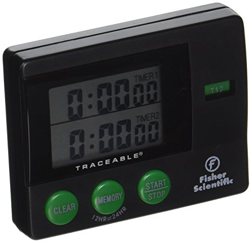06 Memory - Fisher Scientific 06-662-44 Traceable 2 Memory Timer