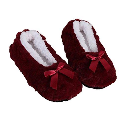 PreSox Women's Thick Knit Skid proof Warm Casual Floor Carpet Socks