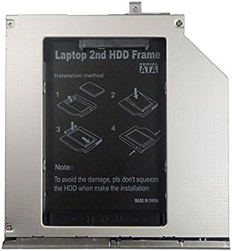 one38 - 2do HDD / Disco Duro SSD SATA Caddy Segundo disco duro SSD ...