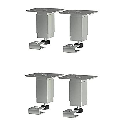 Etonnant IKEA Utby Stainless Steel Kitchen Table Legs   4 PACK