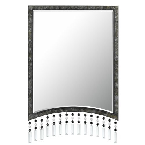 CAL LIGHTING WA-2128MIR Argenta Rectangular Metal Mirror with Beveled Glass