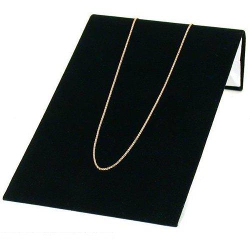 FindingKing Black Velvet Bracelet Jewelry Showcase Display Ramp