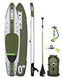 Jobe Aero DUNA 11'6 (2017 Series) Inflatable SUP Package with Backpack, HP Pump, Gauge, Paddle, Leash & BONUS Cell Phone Case.
