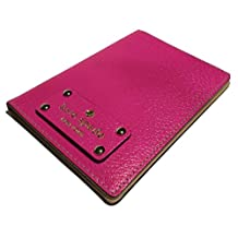 Kate Spade Wellesley Passport Holder Case Bougainvillea Pink Leather WLRU1236