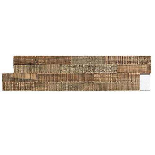 """Aspect Peel n Stick Wood 6.5"""" x 24"""" Panel (5 Pack – Approx. 5 sq ft) (Petrified Forest)"""