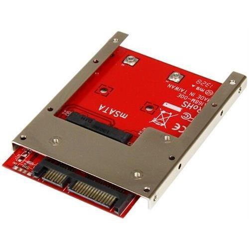 Startech StarTech SAT32MSAT257 mSATA SSD To 2.5in SATA Adapter Converter by StarTech