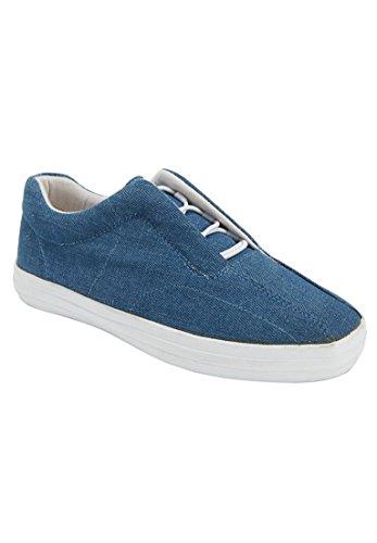Denim Sneaker Slip-on Bungee Da Donna Plus Comfort