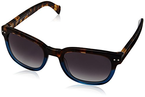 Tommy Hilfiger Women's TH1305S Wayfarer Sunglasses, Havana Blue Opal & Gray Gradient, 51 - Tommy Sunglasses Wayfarer Hilfiger