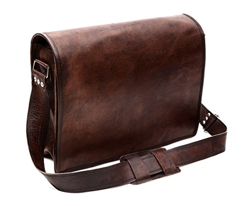 "Porterbello All Saints, Cartable pour Femme Marron Marron foncé Will carry up to 17"" Laptop"