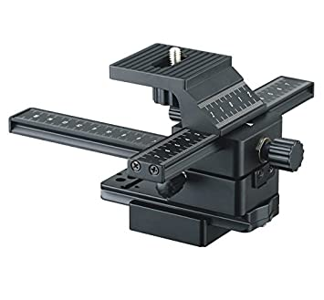83dc50743d06 Buy JJC FC-1 4 Way Macro Focusing Focus Rail Slider Close-up Shooting for  DSLR Camera Canon Nikon Sony Olympus Samsung Camera Payload 2kg Online at  Low ...