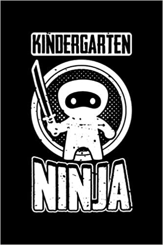 Kindergarten Ninja: Back To School Notebook | Awesome ...