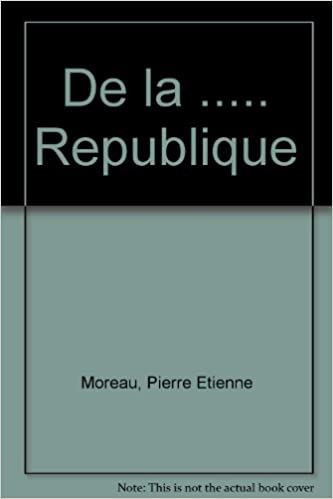 Livres gratuits en ligne De la République pdf