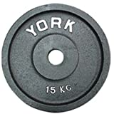 York Cast Iron Olympic Plate (Uncalibrated) 15 kg