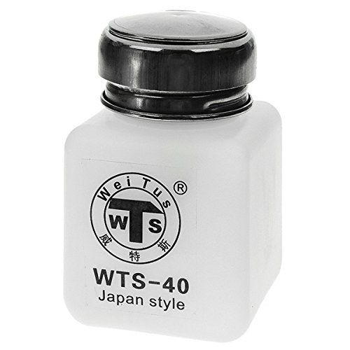 Stainless Steel + Plastic Material Alcohol and Liquid Container Bottle - White (120ml) SYMTOP