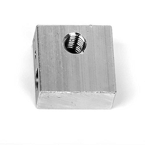 SODIAL(R) Aluminum Heating Block for 3D Printer