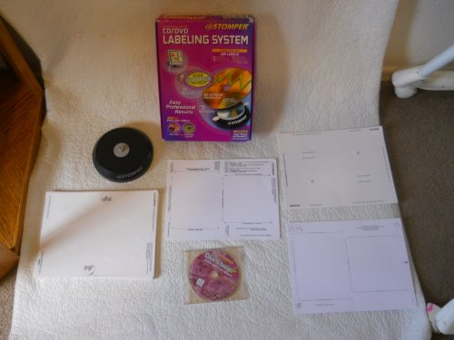 Stomper Cd and DVD Labeling System - Complete Kit 380 Labels