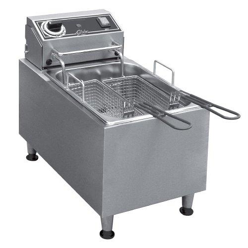 Globe BASKETLARGE1632 Fry Basket for 16/32 lb electric fryer