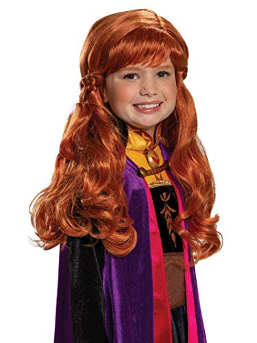 Disguise Disney Anna Frozen 2 Girls' Wig - http://coolthings.us