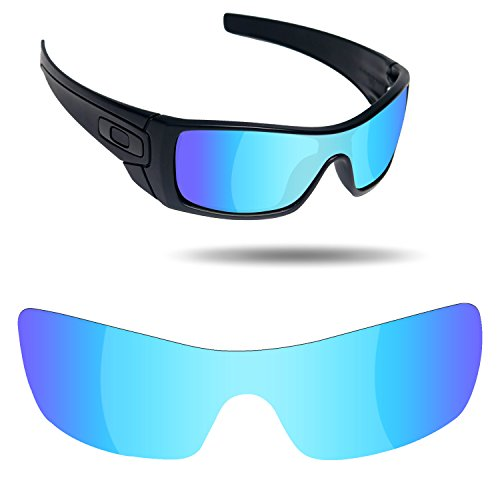 Fiskr Anti-Saltwater Replacement Lenses for Oakley Batwolf Sunglasses - Various - Replacement For Lenses Oakley