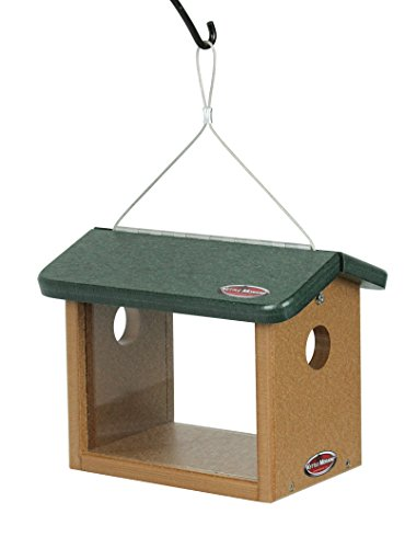 Kettle Moraine Recycled Bluebird Mealworm Feeder Hang or Mount