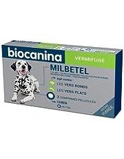Biocanina Milbetel vermifuge pour chiens de plus de 5kg 2 comprimés