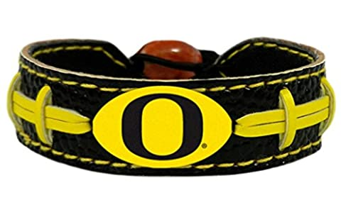 GameWear Oregon Ducks Bracelet - Team Color Football - Gamewear Sports Bracelet