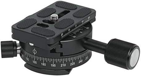 """SIOTI 360 ° Panoramakopf, Panorama-Stativkopf mit Schnellplatte Kompatibel mit RRS/ARCA-Kugelkopf oder jedem Stativkopf/Stativ mit 1/4""""oder 3/8"""" Halterung"""