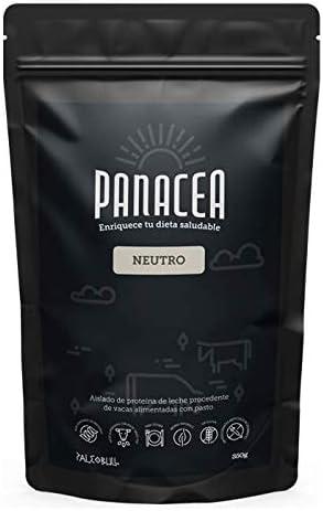 PALEOBULL Panacea Aislado de proteina Neutro 350gr, Negro, Estándar