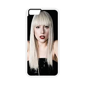 "D-PAFD Cover Shell Phone Case Lady Gaga For iPhone 6 Plus (5.5"")"