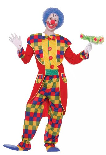 Forum Circus Sensations Clown Tuxedo Costume