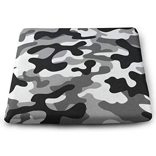 Seat Cushion Military Camouflage Chair Cushion Fantastic Offices Butt Chair Pads for Kitchens (Camo Chair Papasan)