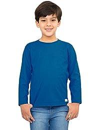 Little Boy Long Sleeve Basic Tee Shirt