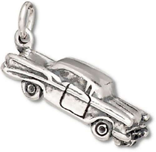 Corinna-Maria Sterling Silver 50's Style Car (Chevy Charm)