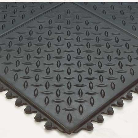 Modular Anti Fatigue Mat (Modular Antifatigue Mat, Black, 3ft.x3ft.)