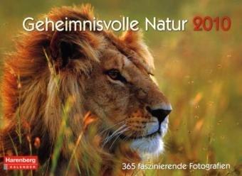 Harenberg Premium-Kalender Geheimnisvolle Natur 2010