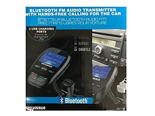 Sylvania, Bluetooth FM Audio Transmitter, Hands-Free for Car
