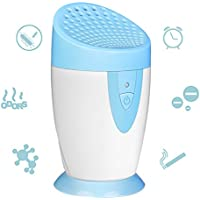 Yunhigh Ionic Air Purifier Filter Battery Operated Refrigerator Deodorizer Odor Eliminator Portable Air Freshener Cleaner for Refrigerator Car Closets Bathrooms Wardrobe Cabinet