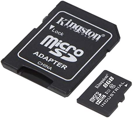Kingston Industrial Grade 8GB ROKU Ultra MicroSDHC Card Verified by way of SanFlash. (90MBs Works for Kingston)